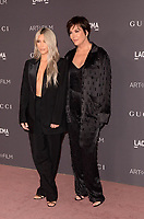 LOS ANGELES, CA - NOVEMBER 04: Kim Kardashian West, Kris Jenner at the 2017 LACMA Art + Film Gala Honoring Mark Bradford And George Lucas at LACMA on November 4, 2017 in Los Angeles, California. Credit: David Edwards/MediaPunch /NortePhoto.com