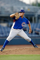 Austin Kirk - AZL Cubs (2009 Arizona League) pitching in his first professional game against the Mariners at Peoria Sports Complex, Peoria, AZ - 8/5/2009.Photo by:  Bill Mitchell/Four Seam Images..