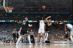 GLENDALE, AZ - APRIL 03: Nigel Williams-Goss #5 of the Gonzaga Bulldogs takes a shot during the 2017 NCAA Men's Final Four National Championship game against the North Carolina Tar Heels at University of Phoenix Stadium on April 3, 2017 in Glendale, Arizona.  (Photo by Chris Steppig/NCAA Photos via Getty Images)