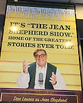 Theatre Marquee: Dan Lauria starring in 'A Christmas Story The Musical'. The story from a cherished movie classic that's enchanted millions is now a Broadway Musical Spectacular. Produced by the film's original Ralphie, Peter Billingsley. Lunt-Fontanne Theatre in New York City on 11/05/2012
