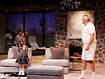 """Colleen Zenk, Brenda Withers,  Malachy Cleary star in """"Other Desert Cities"""" at the tech rehearsal (in costume) on October 14, 2015 at Whippoorwill Halll Theatre, North Castle Library, Kent Place, Armonk, New York.  (Photo by Sue Coflin/Max Photos)"""