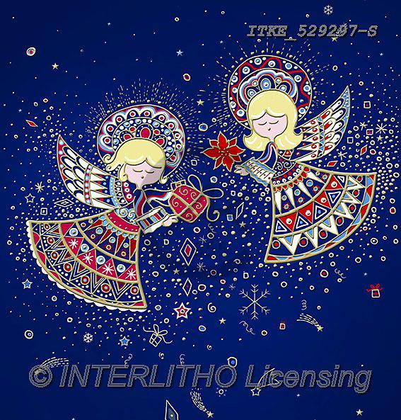 Isabella, NAPKINS, SERVIETTEN, SERVILLETAS, Christmas Santa, Snowman, Weihnachtsmänner, Schneemänner, Papá Noel, muñecos de nieve, angels,paintings+++++,ITKE529297-S,#sv#,#x#