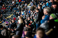 Fans half time <br /> Re: Behind the Scenes Photographs at the Liberty Stadium ahead of and during the Premier League match between Swansea City and Bournemouth at the Liberty Stadium, Swansea, Wales, UK. Saturday 25 November 2017