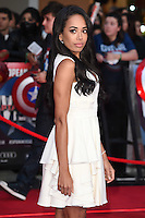 Jade Ewan<br /> arrives for the European premiere of &quot;Captain America: Civil War&quot; at Westfield, Shepherds Bush, London<br /> <br /> <br /> &copy;Ash Knotek  D3111 26/04/2016