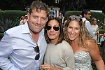 Brad Ross, Georgeann Carras, Rachel Wintner==<br /> LAXART 5th Annual Garden Party Presented by Tory Burch==<br /> Private Residence, Beverly Hills, CA==<br /> August 3, 2014==<br /> &copy;LAXART==<br /> Photo: DAVID CROTTY/Laxart.com==