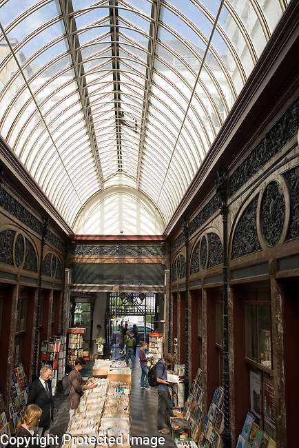 Galerie Bortier Shopping Gallery, Brussels, Belgium, Europe