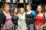 Race goers at the Cahersiveen Race night Dance in The Ring of Kerry Hotel on Sunday night last were l-r; Joanne O'Sullivan, Hazel O'Sullivan, Jackie Munelly, Mary Ann Kelly & Aoifa Garvey.