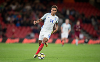 Dominic Calvert-Lewin (Everton) of England U21 during the UEFA EURO U-21 First qualifying round International match between England 21 and Latvia U21 at the Goldsands Stadium, Bournemouth, England on 5 September 2017. Photo by Andy Rowland.