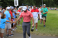 Rory McIlroy (NIR) walks to the 9th tee during Saturday's Round 3 of the WGC Bridgestone Invitational 2017 held at Firestone Country Club, Akron, USA. 5th August 2017.<br /> Picture: Eoin Clarke | Golffile<br /> <br /> <br /> All photos usage must carry mandatory copyright credit (&copy; Golffile | Eoin Clarke)