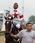 May 04, 2019 : #Mitole and jockey Ricardo Santana Jr. win the 85th running of the Churchill Downs Grade 1 $500,000 for owner L William and Corinne Heligbrodt and trainer Steven Asmussen at Churchill Downs on May 04, 2019.  Candice Chavez/ESW/CSM