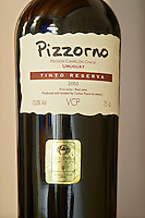 Bottle of Pizzorno Tinto Reserva 2002 Bodega Carlos Pizzorno Winery, Canelon Chico, Canelones, Uruguay, South America
