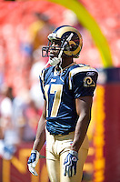 9/20/09 - Photo by John Cheng for Photofile.  St Louis Rams vs Washington Redskins at the FedEx Field.