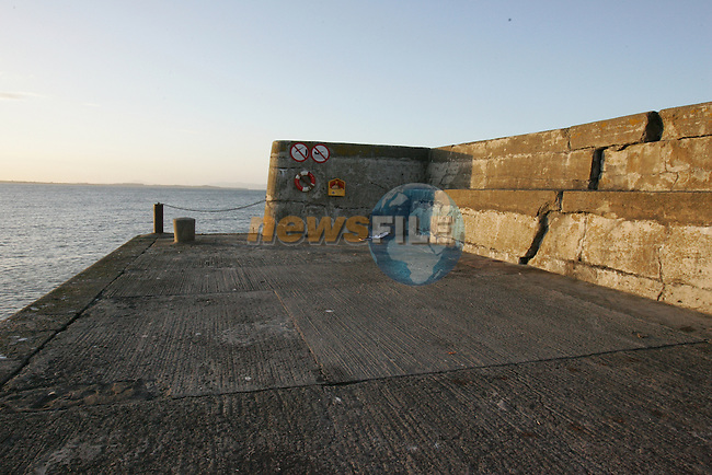 Clogherhead Pier at the start of reconstruction..Photo By Fran Caffrey/Newsfile.ieClogherhead Pier at the start of reconstruction..Photo By Fran Caffrey/Newsfile.ie