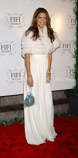 WWW.ACEPIXS.COM . . . . . ....NEW YORK, APRIL 3, 2006....Adriana Lima at the 34th Annual FiFi Awards.....Please byline: KRISTIN CALLAHAN - ACEPIXS.COM.. . . . . . ..Ace Pictures, Inc:  ..Philip Vaughan (212) 243-8787 or (646) 679 0430..e-mail: info@acepixs.com..web: http://www.acepixs.com