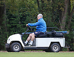 Ian Durrant on his buggy