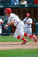 Jim Rapoport (7) April 20th, 2010; Midland Texas Rockhounds vs The Springfield Cardinals at Hammons Field in Springfield Missouri.  The Cardinals won in the 9th inning breaking a 1-1 tie.