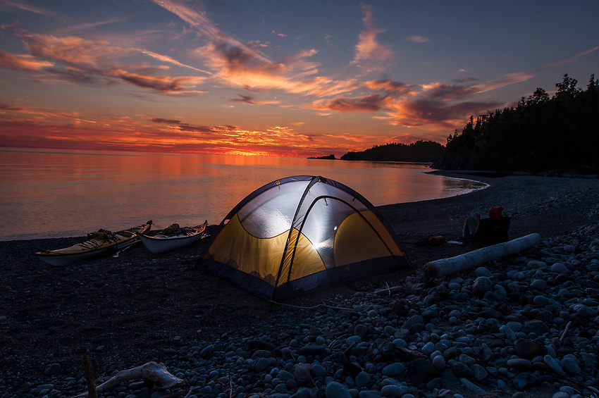 Pukaskwa National Park, Lake Superior, Ontario, Canada.
