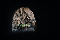 tunnel-view for Team Trek-Segafredo at Mallorca training camp <br /> <br /> January 2018