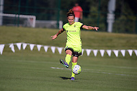 Kansas City, MO - Saturday June 25, 2016:  Rachel Corsie during a regular season National Women's Soccer League (NWSL) match at Swope Soccer Village.
