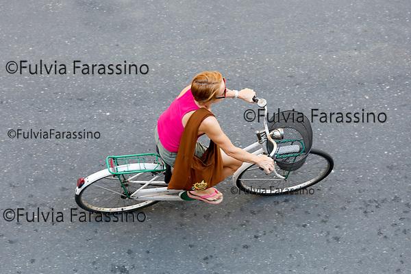 Milano in bicicletta estate 2017