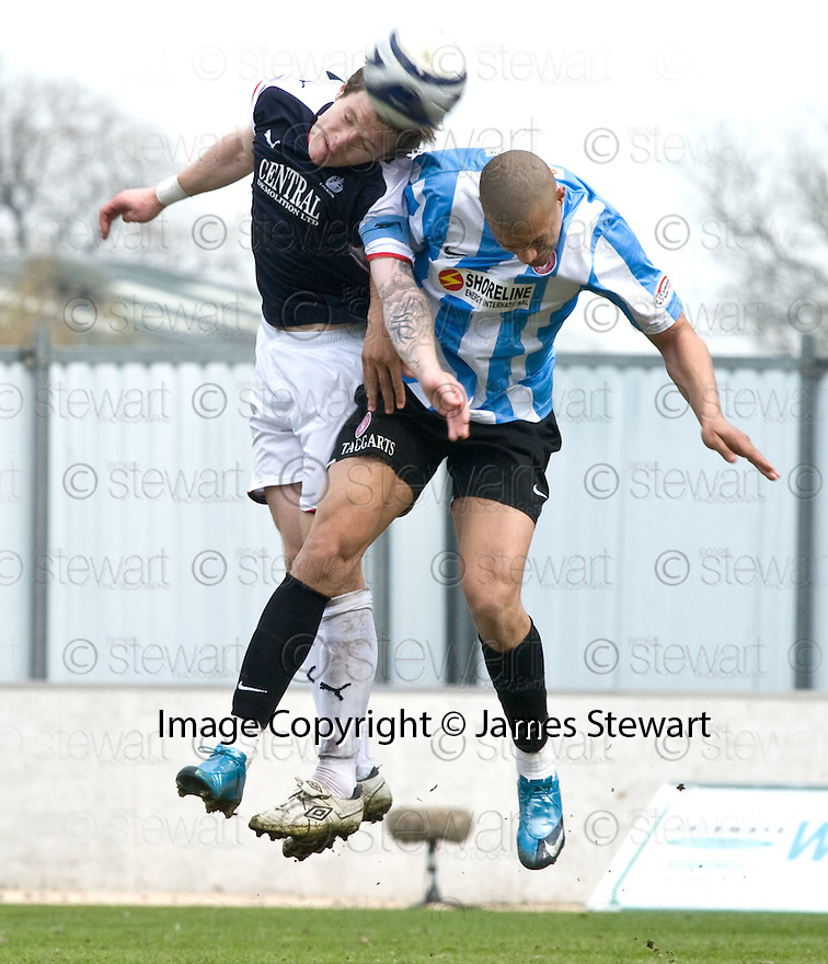 24/04/2010   Copyright  Pic : James Stewart.sct_jsp016_falkirk_v_hamilton  .::  DARREN BARR AND MICKAEL ANTOINE-CURIER ::  .James Stewart Photography 19 Carronlea Drive, Falkirk. FK2 8DN      Vat Reg No. 607 6932 25.Telephone      : +44 (0)1324 570291 .Mobile              : +44 (0)7721 416997.E-mail  :  jim@jspa.co.uk.If you require further information then contact Jim Stewart on any of the numbers above.........