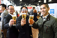 Guests toasting at the StarChefs Congress.