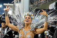 SÃO PAULO, SP, 09.03.2019 - CARNAVAL-SP - Lívia Andrade, madrinha de bateria da escola de samba Império de Casa Verde durante Desfile das campeãs do Carnaval de São Paulo, no Sambódromo do Anhembi em Sao Paulo, na madrugada deste sábado, 09. (Foto: Anderson Lira/Brazil Photo Press)