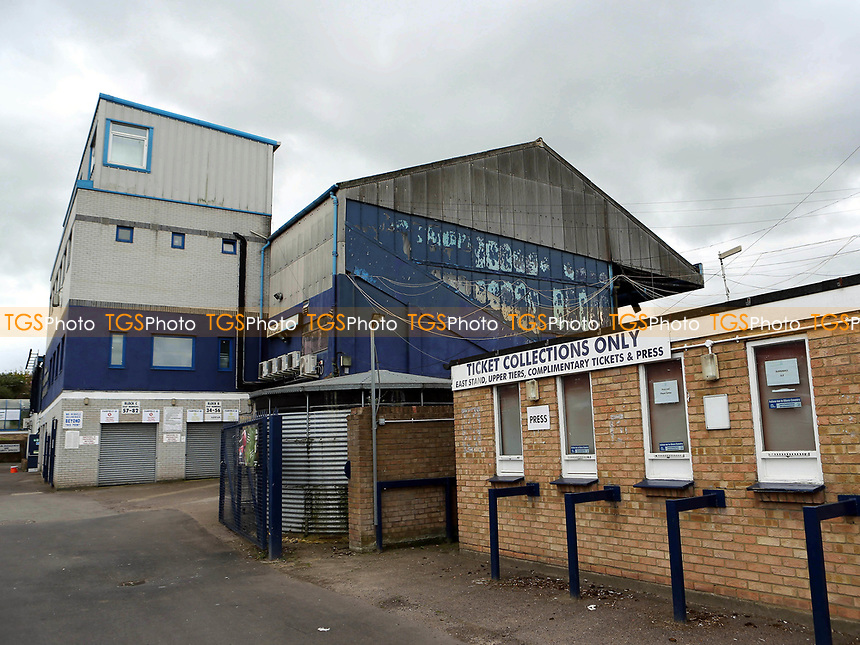 General view of the Ticket Collection Kiosk for Complimentary and Press during Southend United vs MK Dons, Sky Bet EFL League 1 Football at Roots Hall on 17th April 2017