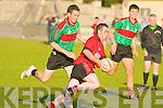 Glenbeigh/Glencar's Jason McKenna and Beale's Declan Bennett.