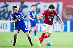 Guangzhou Forward Ricardo Goulart (R) in action against Suwon Midfielder Damir Sovsic (L) during the AFC Champions League 2017 Group G match between Guangzhou Evergrande FC (CHN) vs Suwon Samsung Bluewings (KOR) at the Tianhe Stadium on 09 May 2017 in Guangzhou, China. Photo by Yu Chun Christopher Wong / Power Sport Images
