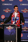 15 January 2009: Peri Marosevic was taken with the fifth overall pick by FC Dallas. The 2009 Major League Soccer SuperDraft was held at the Convention Center in St. Louis, Missouri in conjuction with the National Soccer Coaches Association of America's annual convention.