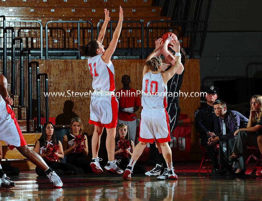 University of Hartford Womens Basketball vs. Binghamton on Thursday, February 18, 2010.