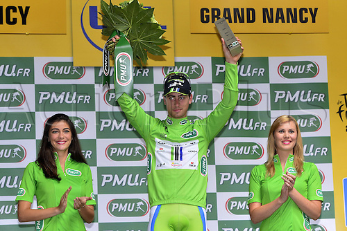 11.07.2014. Eperney to nancy, France. Tour de France cycling tour.  SAGAN Peter (SVK - Cannondale) on the podium