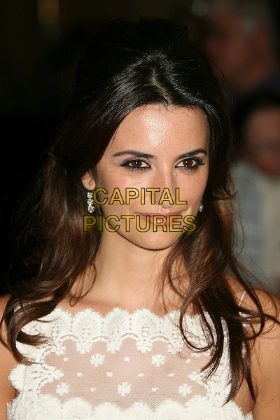 PENELOPE CRUZ.79th Annual Academy Awards Nominees Luncheon at the Beverly Hilton Hotel, Beverly Hills, California, USA..February 5th, 2007.headshot portrait white lace.CAP/ADM/BP.©Byron Purvis/AdMedia/Capital Pictures