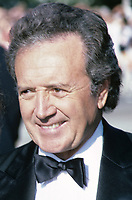 ***FILE PHOTO*** ***Vic Damone Has Passed Away aged 89***<br /> Vic Damone photographed at the Emmy Awards in September, 1986.<br /> CAP/MPI/WAL<br /> &copy;WAL/MPI/Capital Pictures