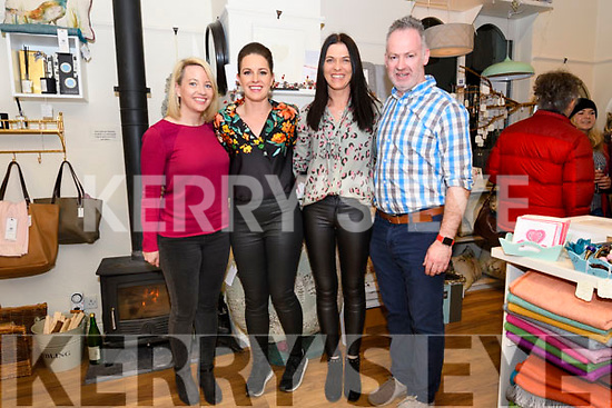 The team behind the Coach House Dingle's twinkle Thursday Christmas celebrations: Christina Moran, Grainne Kavanagh, Sandra Walsh and Anthony Ó Sé.