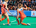 ROTTERDAM - Xan de Waard (Ned)  scoort 1-1 tijdens de Pro League hockeywedstrijd dames, Netherlands v USA (7-1)  .  .COPYRIGHT  KOEN SUYK
