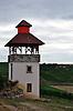 Pertelturm in den Weinbergen von Nieder-Saulheim