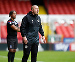 Travis Binnion Sheffield Utd academy manager during the Professional Development U23 match at Bramall Lane, Sheffield. Picture date 4th September 2017. Picture credit should read: Simon Bellis/Sportimage