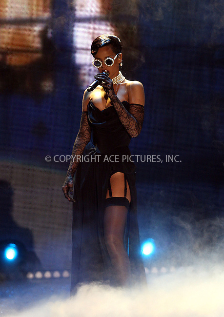 WWW.ACEPIXS.COM......November 7 2012, New York City....Rihanna performs on the runway during the 2012 Victoria's Secret Fashion Show at the Lexington Avenue Armory on November 7, 2012 in New York City.....By Line: Philip Vaughan/ACE Pictures....ACE Pictures, Inc...tel: 646 769 0430..Email: info@acepixs.com..www.acepixs.com