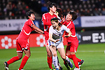 Kim Doyeon (KOR), <br /> DECEMBER 11, 2017 - Football / Soccer : <br /> EAFF E-1 Football Championship 2017 Women's Final match <br /> between North Korea 1-0 South Korea <br /> at Fukuda Denshi Arena in Chiba, Japan. <br /> (Photo by Naoki Nishimura/AFLO)