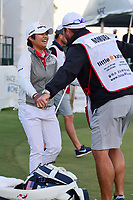 Haru Nomura (JPN) rushes to hug her caddie, Jason McDede after winning the Volunteers of America Texas Shootout Presented by JTBC, at the Las Colinas Country Club in Irving, Texas, USA. 4/30/2017.<br /> Picture: Golffile | Ken Murray<br /> <br /> <br /> All photo usage must carry mandatory copyright credit (&copy; Golffile | Ken Murray)