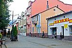 Ustrzyki Dolne, centrum miasta