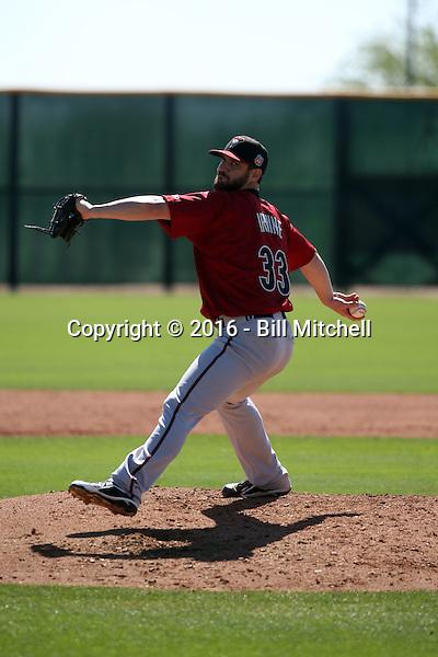 Luke Irvine - Arizona Diamondbacks 2016 spring training (Bill Mitchell)
