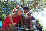 Local Transportation Near Shwezigon Pagoda