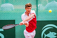 The Hague, Netherlands, 09 June, 2018, Tennis, Play-Offs Competition, Antal van der Duim (NED)<br /> Photo: Henk Koster/tennisimages.com