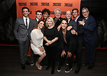 Michael Urie, Jack DiFalco, Roxanna Hope Radja, Mercedes Ruehl, Carole Rothman, Harvey Fierstein, Michael Rosen, Richie Jackson, Ward Horton and Moises Kaufman attends the Off-Broadway Opening Night After Party for the Second Stage Production on 'Torch Song' on October 19, 2017 at Copacabana in New York City.