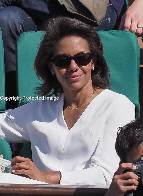 Audrey Pulvar<br /> day 12<br /> Roland Garros 2017