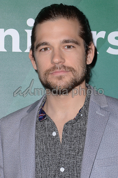 14 January  - Pasadena, Ca - Jason Ralph. NBC Universal Press Tour Day 2 held at The Langham Huntington Hotel. Photo Credit: Birdie Thompson/AdMedia