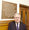 Kinderstransport plaque in Parliament, Westminster, London, Great Britain <br /> 27th January 2017 <br /> <br /> Chief Rabbi and Archbishop of Canterbury to mark Holocaust Memorial Day with Lord Dubs at rededication of Kindertransport plaque in Parliament<br />  <br /> 20 years ago the Committee of the Reunion of the Kindertransport donated a plaque to Parliament commemorating Britain&rsquo;s act of generosity to Jewish children in Nazi-occupied Europe. On Holocaust Memorial Day [27 January 2017], the plaque will be rededicated in the presence of newly arrived child refugees who were reunited with their families from Calais last year by Safe Passage, a project of Citizens UK. <br />  <br /> The ceremony will be particularly poignant as it will be attended by Lord Dubs, himself a Kindertransport survivor, who passed an amendment to the Immigration Act last year, with the Government's support, affording sanctuary in the UK to some of the most vulnerable lone child refugees in Europe.<br /> <br /> Rabbi Danny Rich is the Senior Rabbi and Chief Executive of Liberal Judaism in the United Kingdom<br /> <br /> <br /> Photograph by Elliott Franks